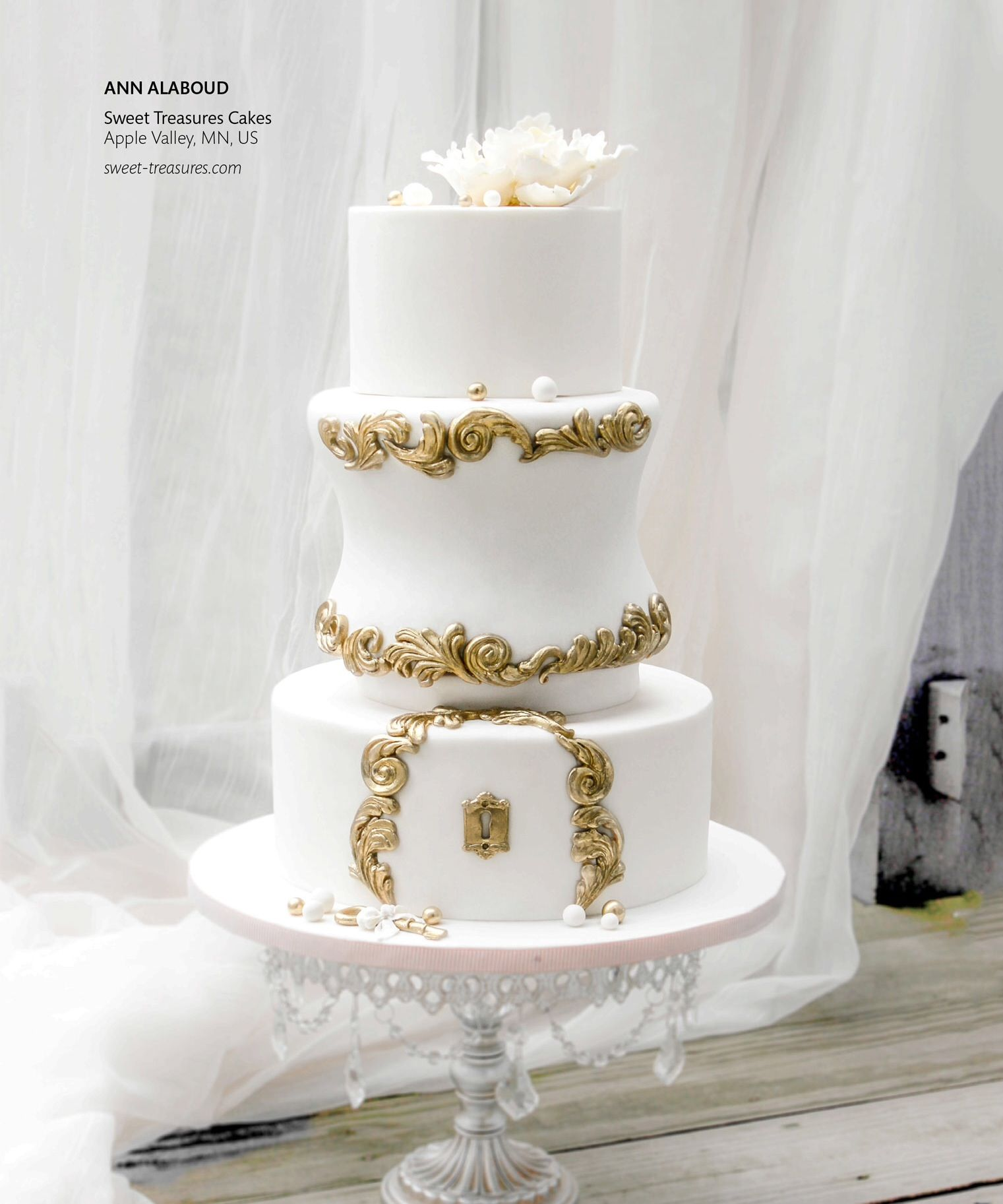 Ann Alaboud | Apple Valley, MN | Cake Central Magazine | January 2014