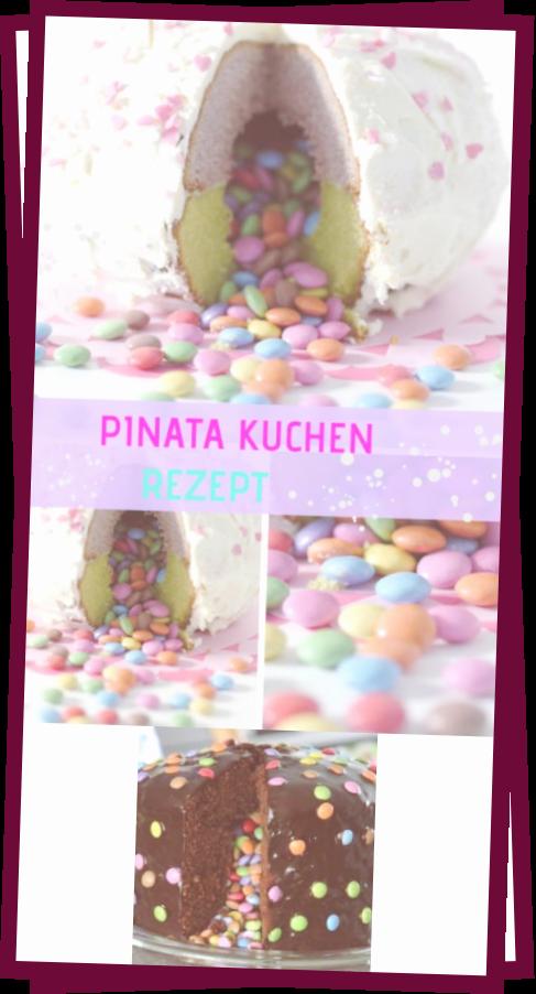 Photo of Bester Pinata-Kuchen Mit Smarties Fullung – Mit Anleitung
