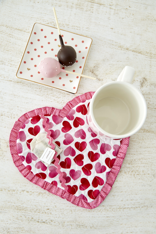 Valentine Mug Hug Rug