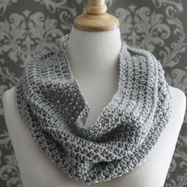 Free Easy Cowl Crochet Pattern Modern Crochet Patterns Modern