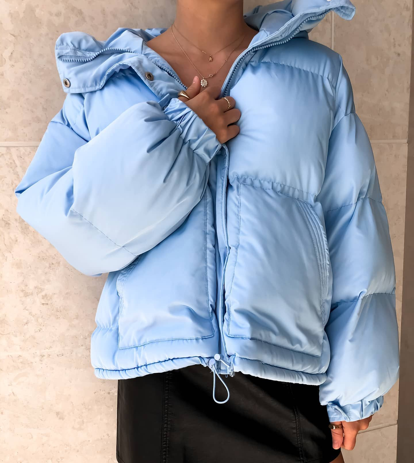 Can T Pocket It Puffer Jacket Just Restocked Jackets Outfits Clothes For Women [ 1610 x 1440 Pixel ]