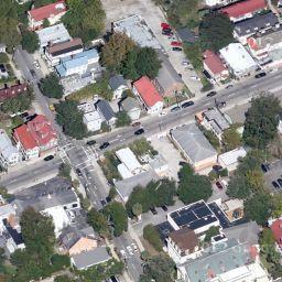 154 Spring St to 207 Rutledge Ave, Charleston, SC Hominy- Google Maps