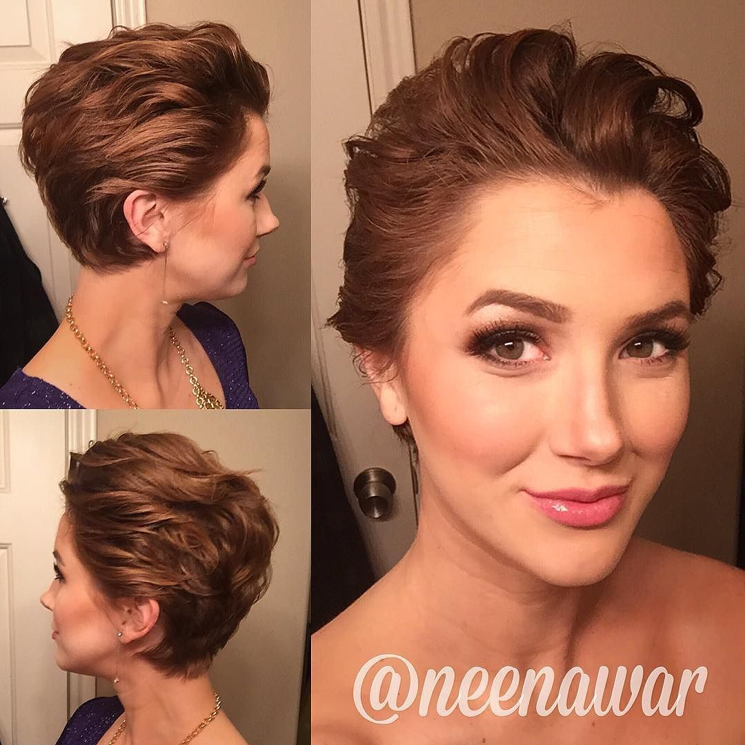 Fancy pixie styling on neenawar who says you canut do anything