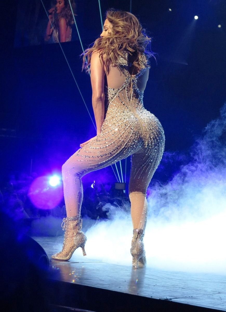 J Lo Big Ass Stupid Costumes Account For Awesome Boob And Nipple Slips J
