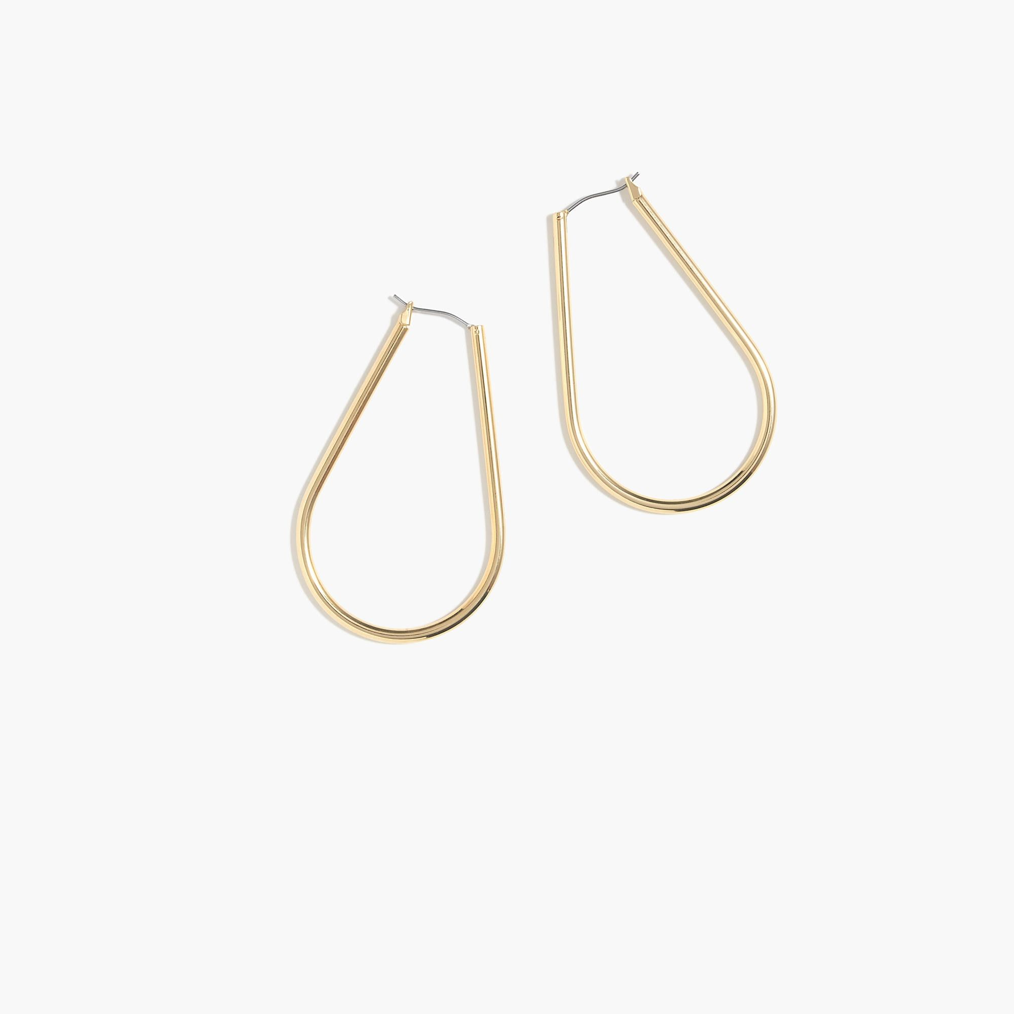 Horseshoe Hoop Earrings Women Jewelry