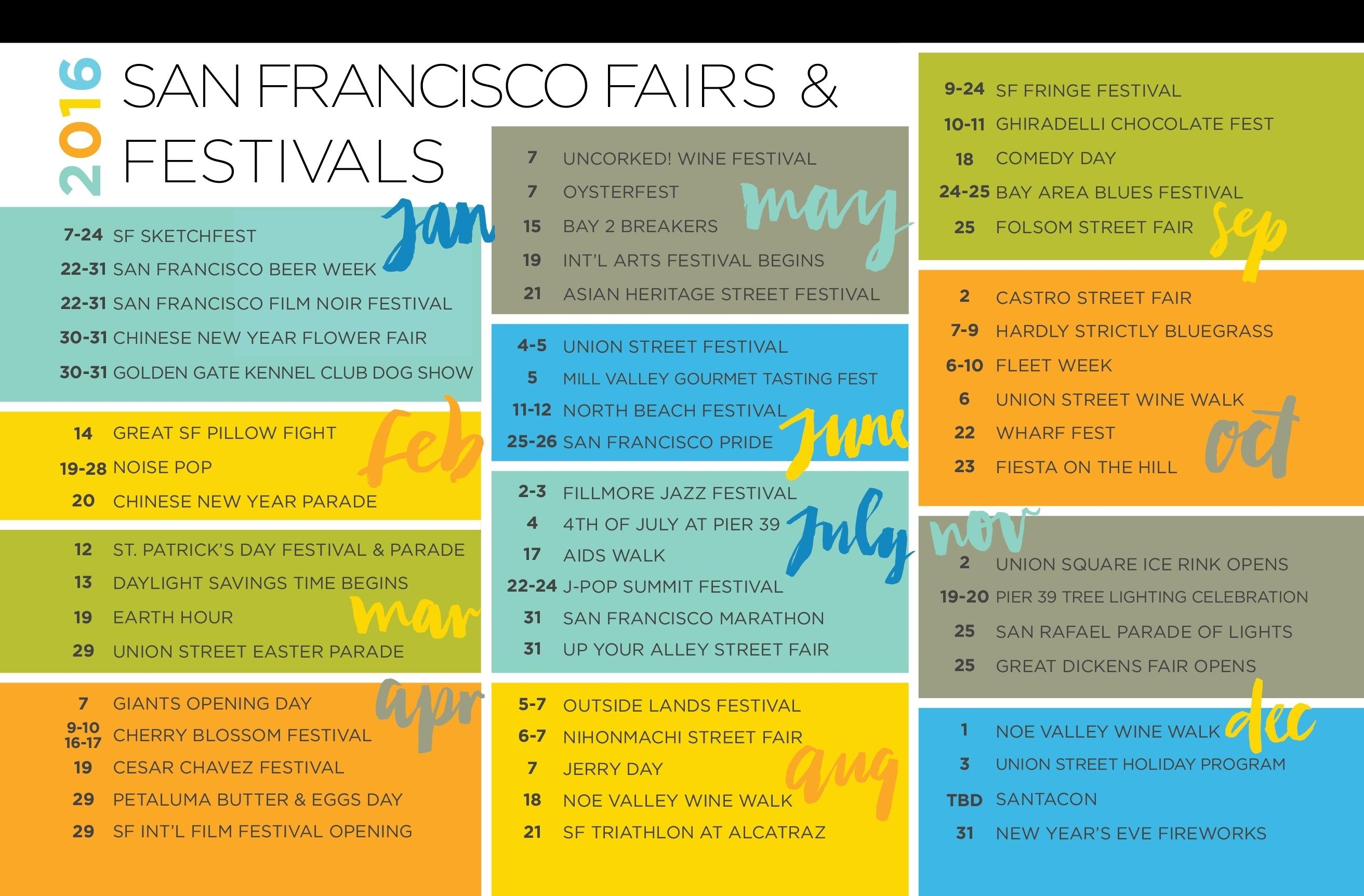 Images of San Francisco Calendar Of Events 2021
