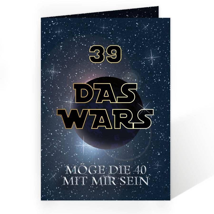 Geburtstagseinladung DAS WARS