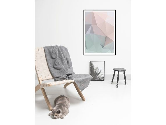 Pastel No 2modern Posters Abstract Art Prints