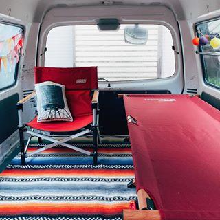Van Life バン 車 キャンプツーリング バン