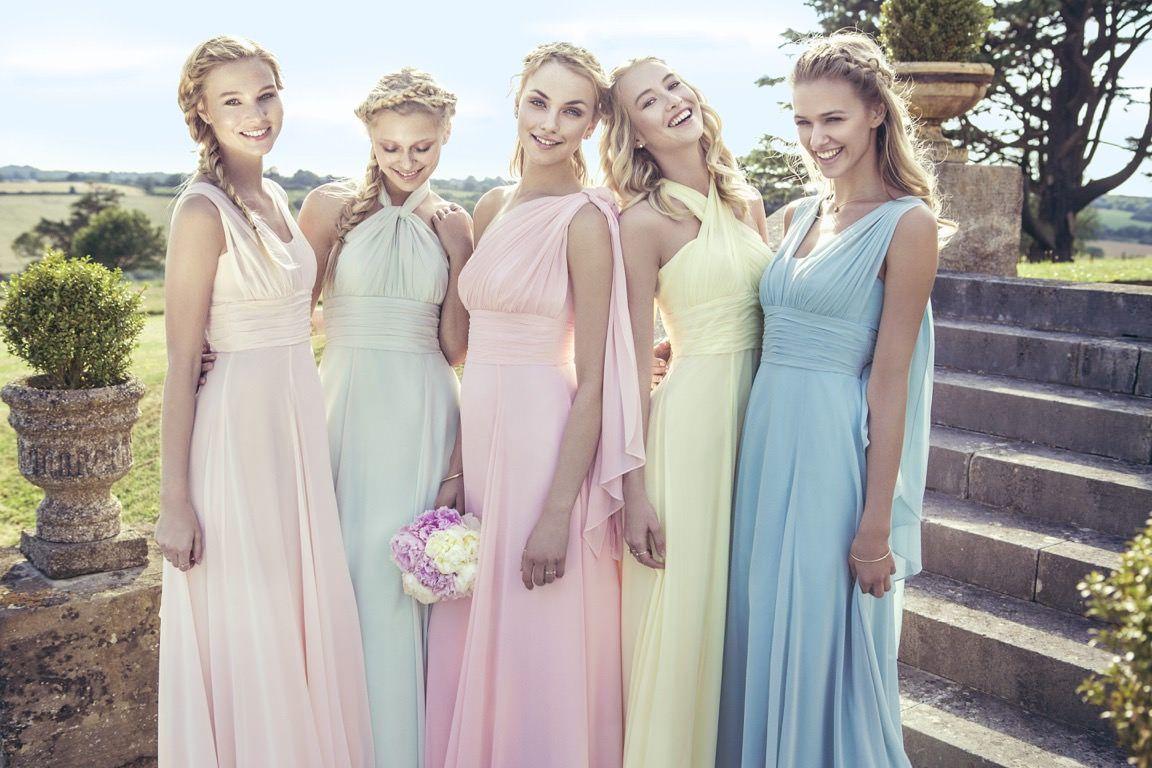 Brautjungfernkleider von Kelsey Rose  Hochzeit brautjungfern