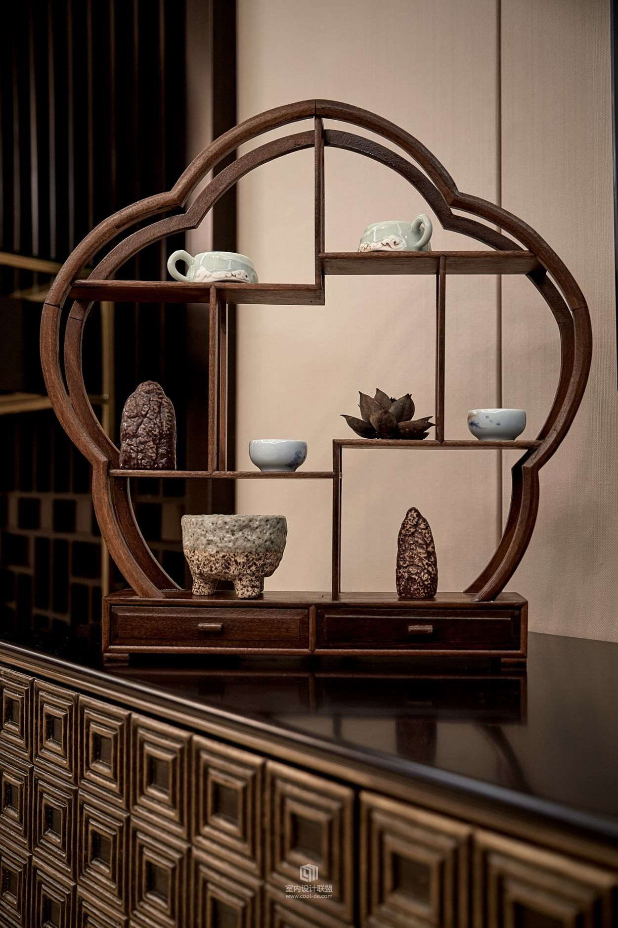 Sculpture Accessories Chinese Style Interior Asian Interior