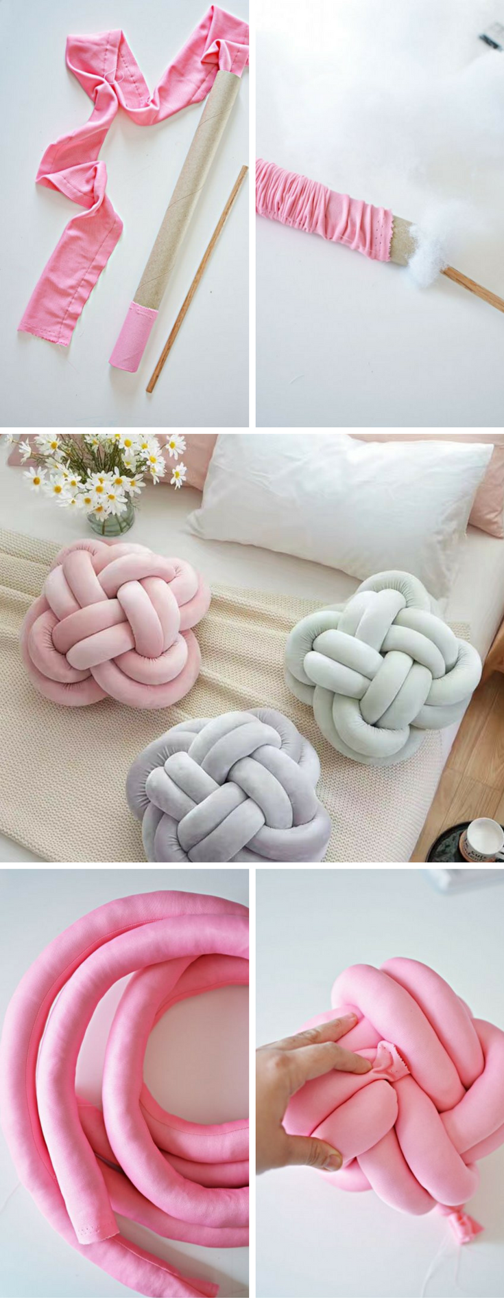 Must Try This DIY Knot Pillow It is Effortless And Costs Almost