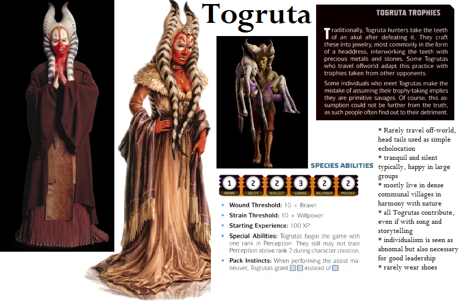 togruta star wars rpg races force and destiny fantasy flight