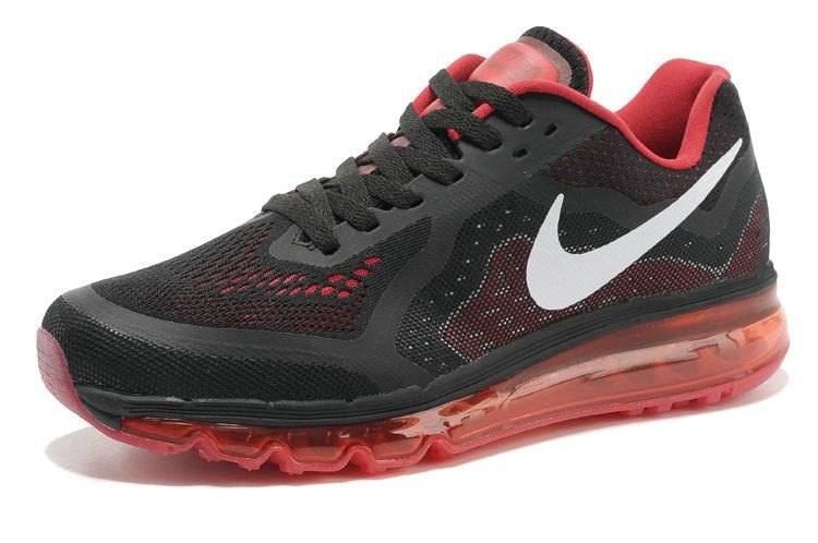 competitive price bd4b8 4a95a 2018 Authentic Nike Air Max 2014 Low Black University Red White