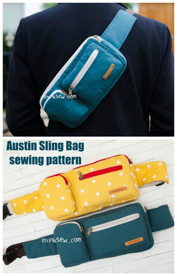 Austin Sling Bag Sewing Pattern - Sew Modern Bags