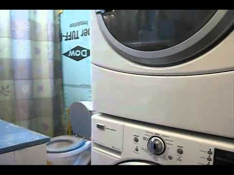 Installing A Washer Dryer Stacking Kit Youtube Washer And Dryer Samsung Washer Appliances Online