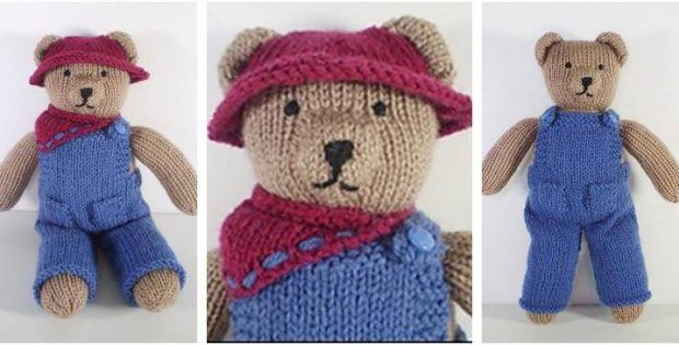 Cute Knitted Teddy Bear Clothes [FREE Knitting Pattern ...
