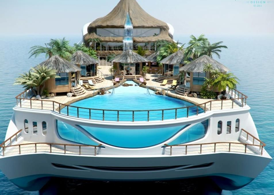best house boat ever - Worlds Beautiful Houses