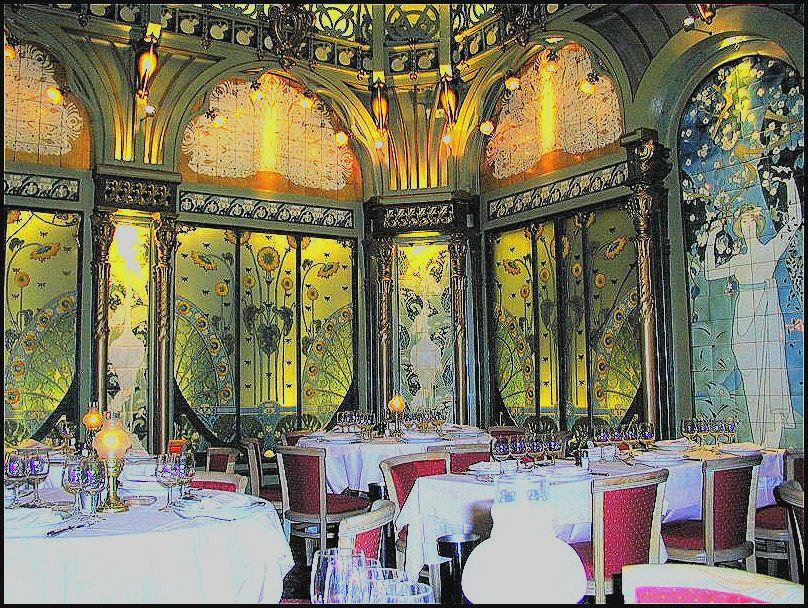 mollard art nouveau restaurant absolutely stunning paris