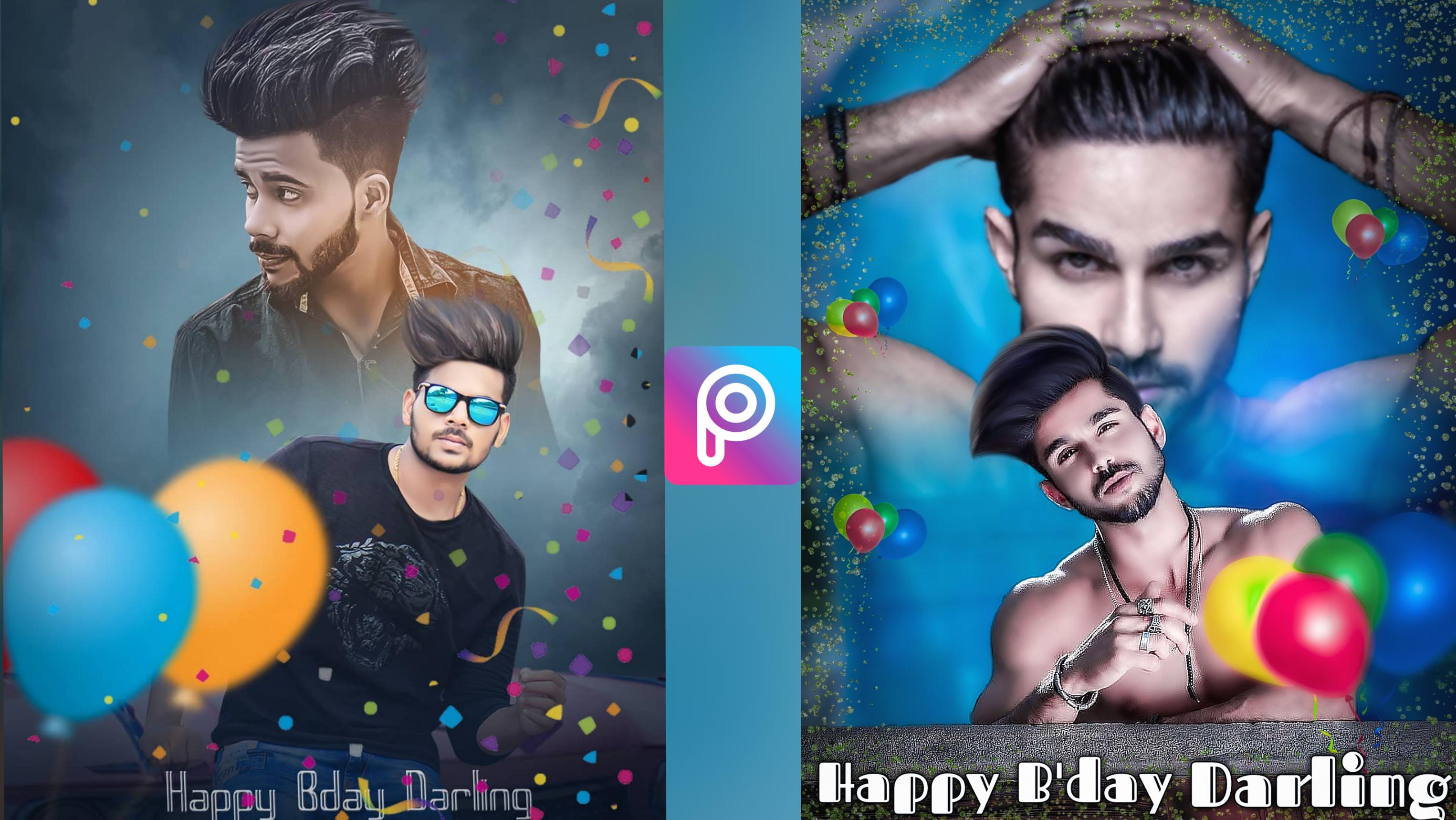 Happy Birthday Photo Editing In PicsArt Like Photoshop By JB EDITZ