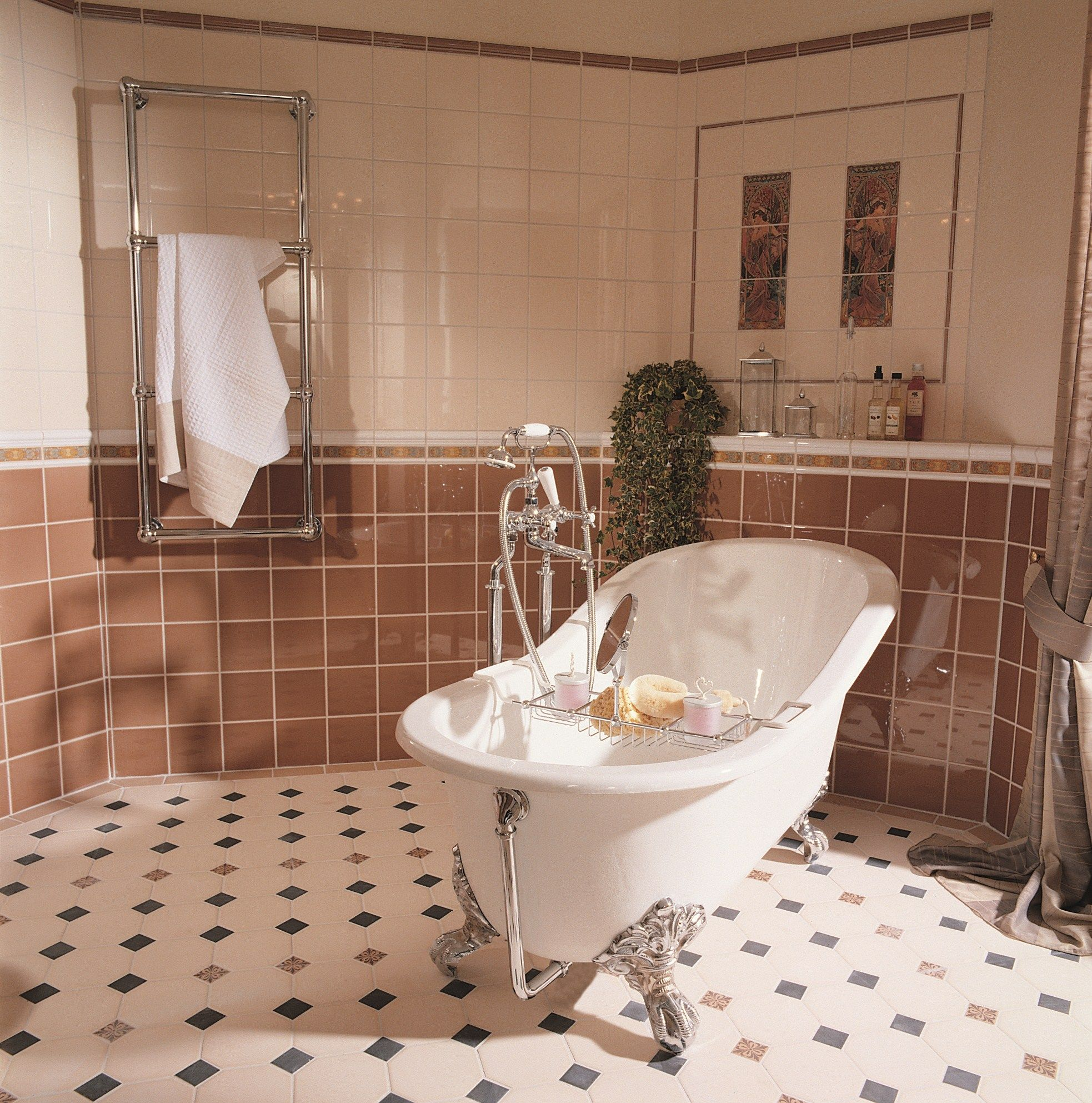 victorian floor tiles the york pattern is shown here in this rh pinterest com