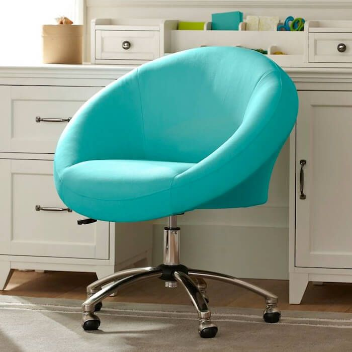 aqua desk chair best high for babies 2018 rolling office egg my dream room bedroom