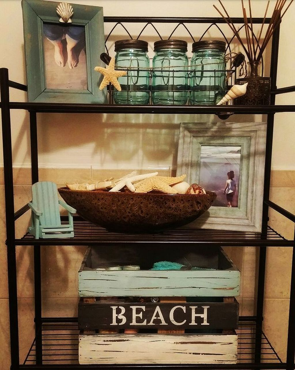 Incredible A Beach Themed Bathroom Ideas 22 Beach Theme Bathroom Beach Bathroom Decor Ocean Bathroom Decor