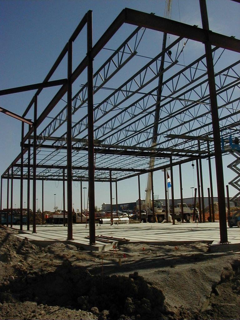 Structural Steel Framing - buildipedia - Willowridge Construction ...