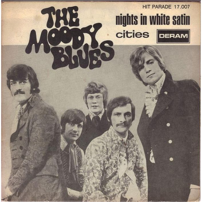 The Moody Blues Nights In White Satin Platenhoezen In