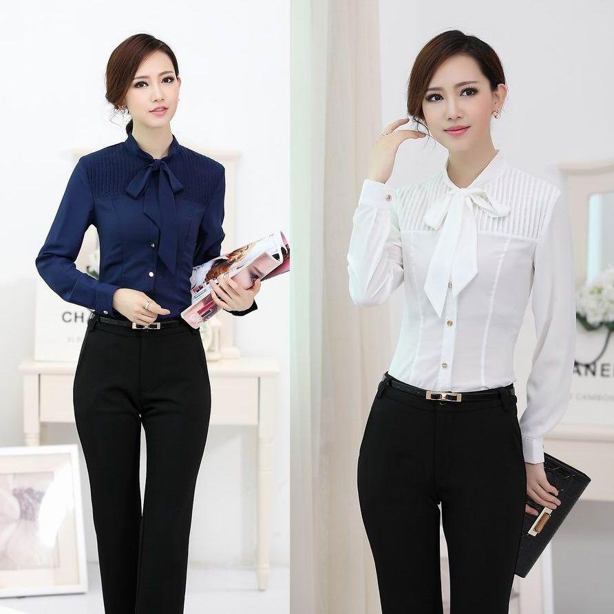 Cheap formal estilos uniformes de oficina mujeres juegos Diseno de uniformes para oficina 2017