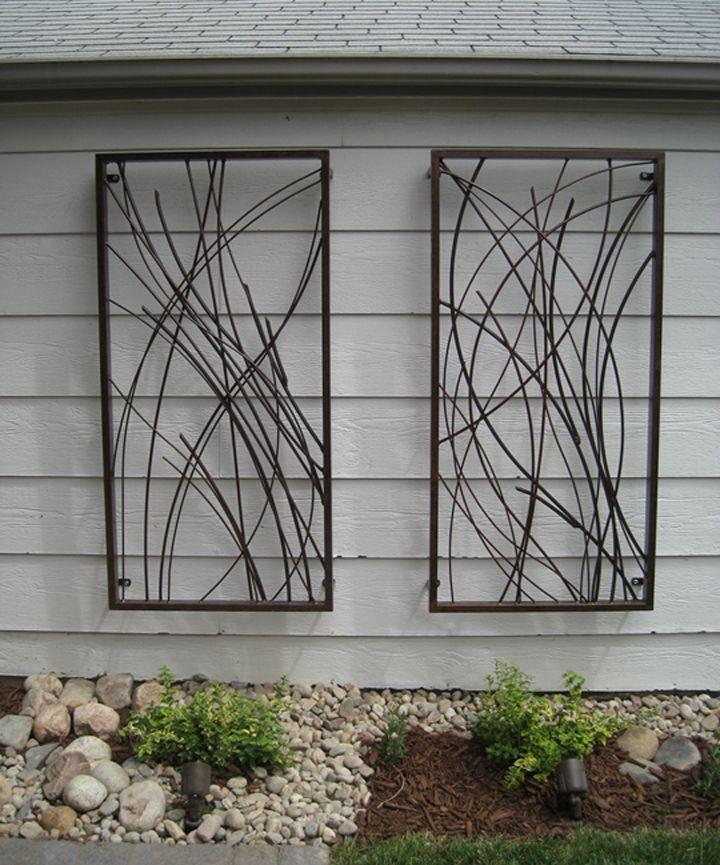 Metal wall sculpture. Garden Wall ArtMetal ...