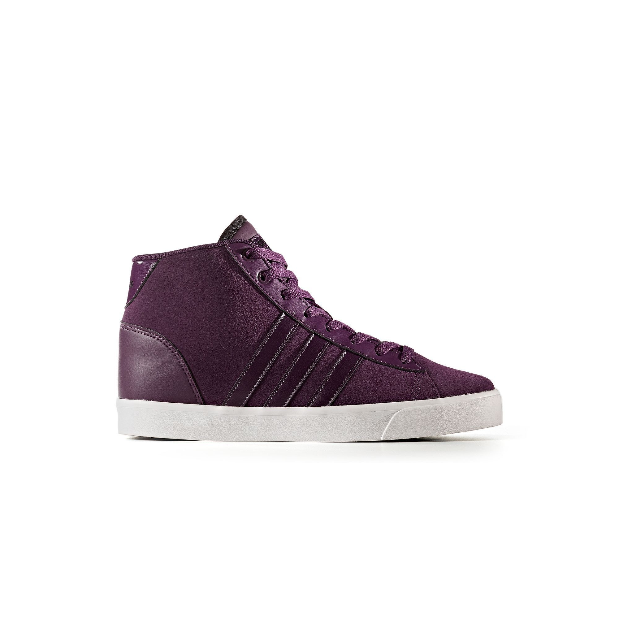 quality design 80f84 363dc Adidas NEO Cloudfoam Daily QT Mid Womens Shoes, Size 6.5, Dark Red
