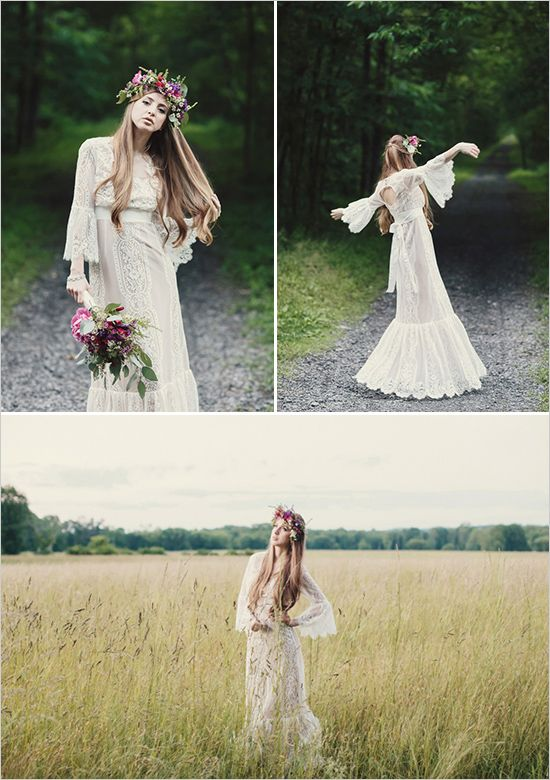 flower child lace wedding dress- so perfect - Flower Child Lace Wedding Dress- So Perfect One Day Pinterest