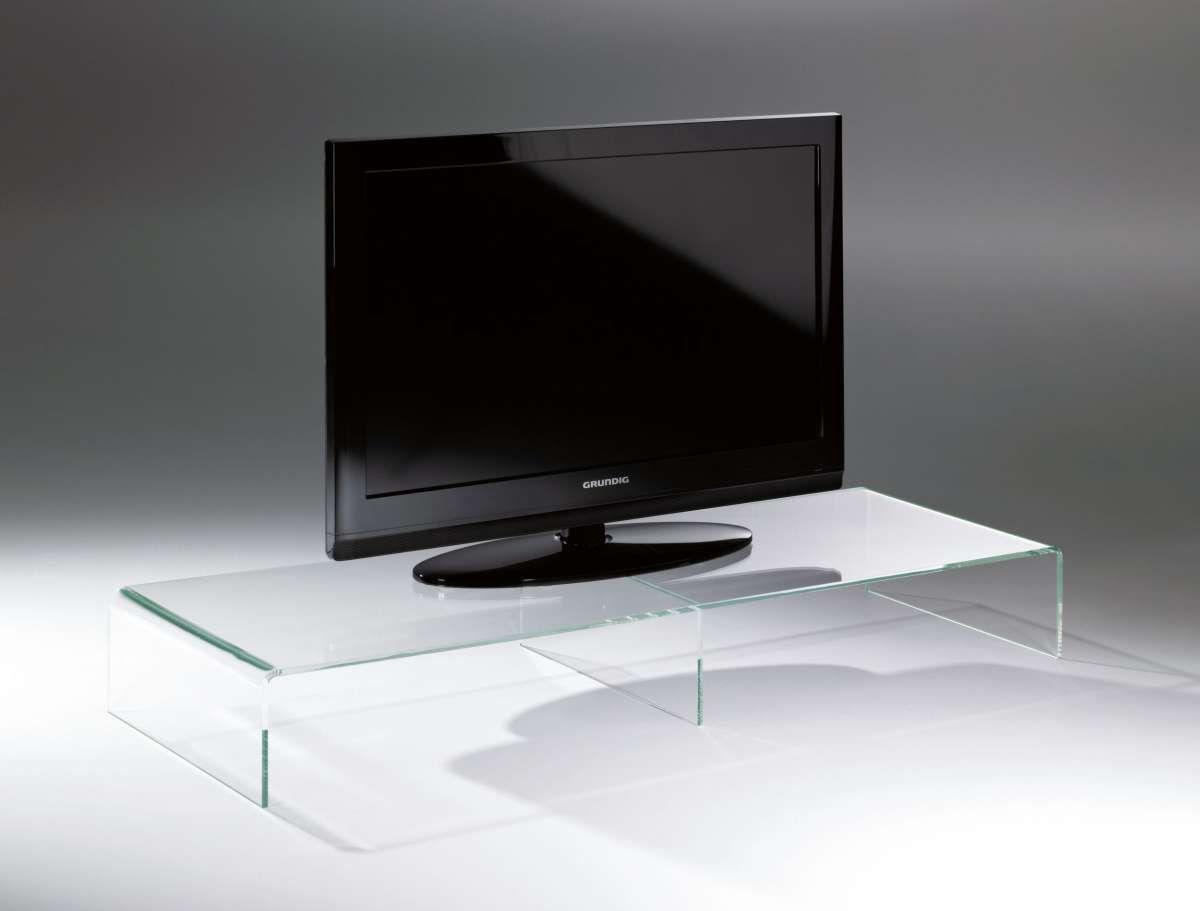 Sympathisch Tv Tisch Foto Von Hochwertiger Acryl-glas Tv-tisch, Tv-rack, Klar, 80 X