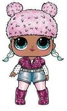 Lol Surprise Dolls Glitter Brr B B Bonecos De Lol Boneca