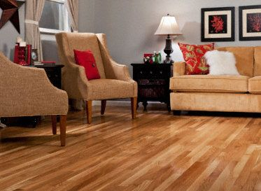 Natural white oak is an extremely popular flooring choice for American home choice
