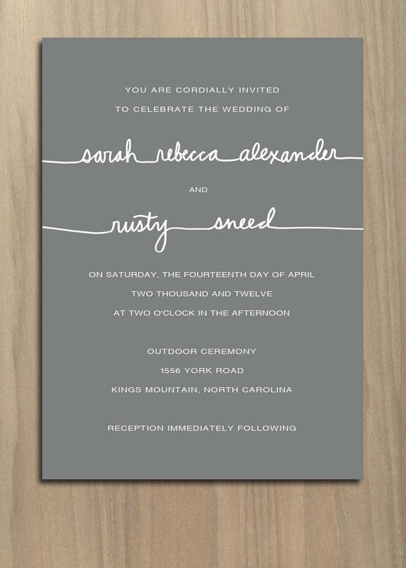 5 Big Wedding Invitation Trends Are Here to Stay Wedding