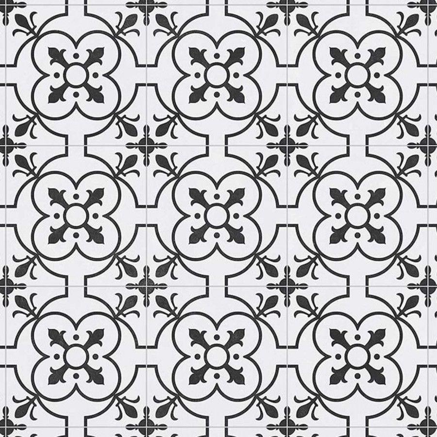 Tile Effect Anti Slip Vinyl Flooring