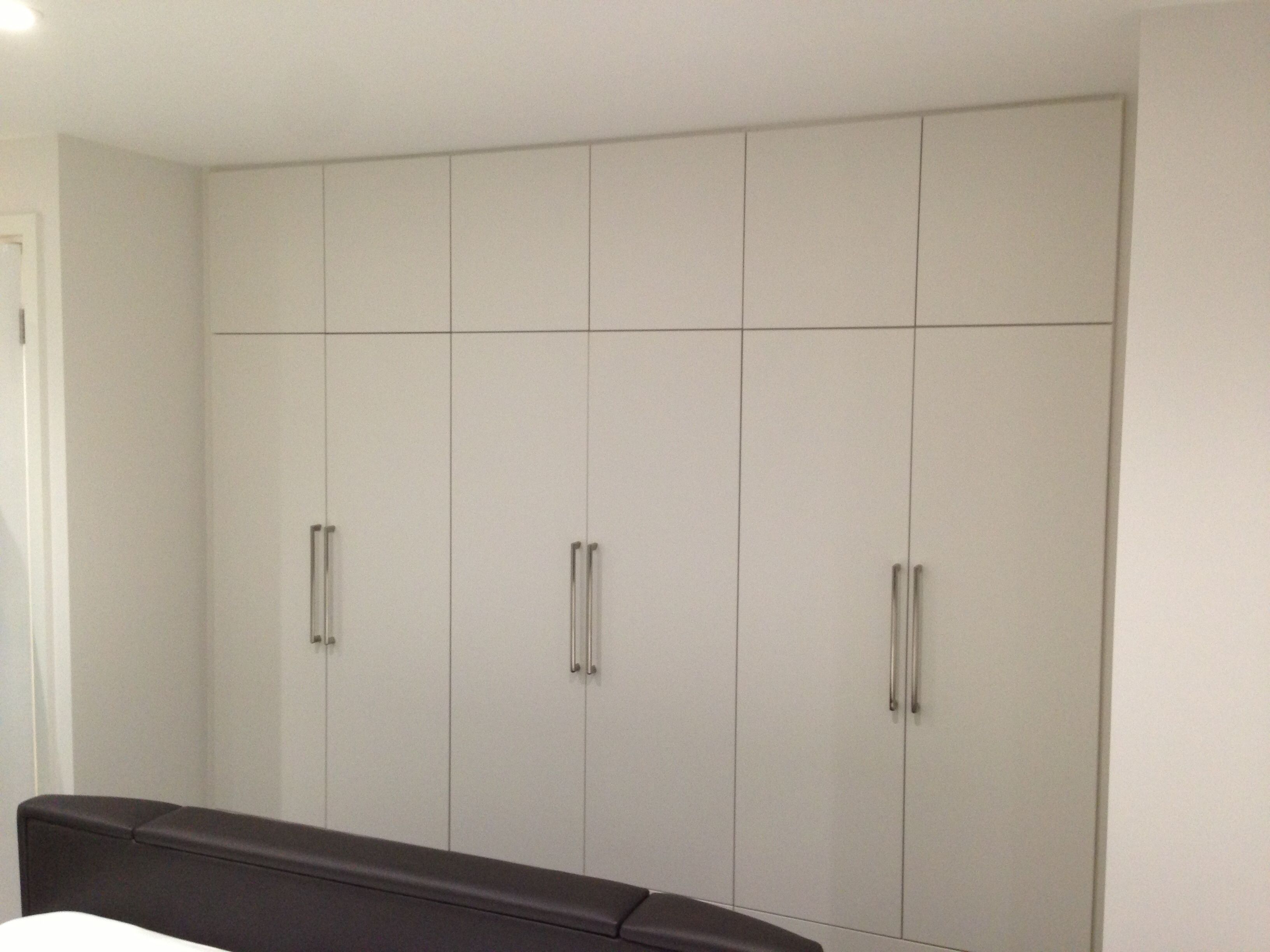 Self Assembly Fitted Bedroom Furniture Bespoke Fitted Wardrobe In White Mfc Laminate Bespoke Joinery