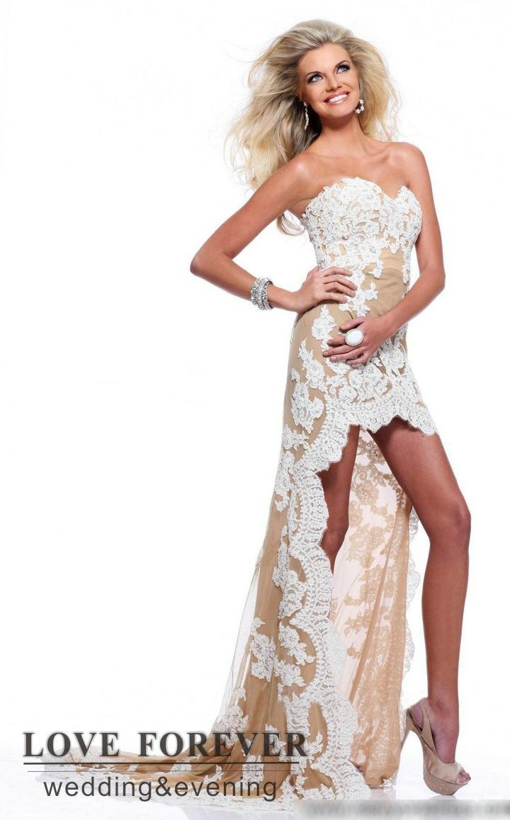 Matric dance dresses matric farewell dresses evening dresses pictures - Buy Free Shipping High Low Beautiful Lace Matric Farewell Dress Us Size 2 To