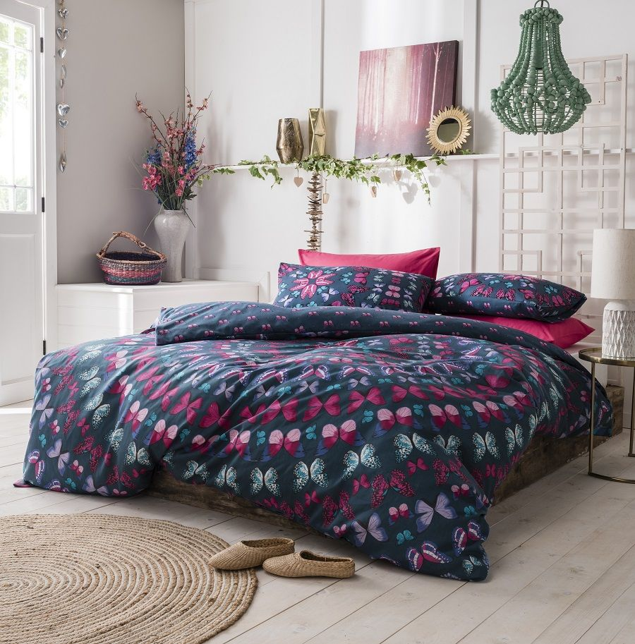 Pieridae New Beatiful Patchwork Mandala Duvet Bedding Cover Set With Pillow case
