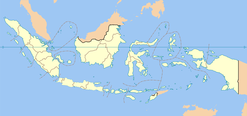 Indonesian provinces and their capitals, listed by region ...