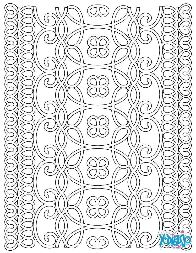 Dibujo para colorear : Mandala para adultos | Antistres omalovanky ...
