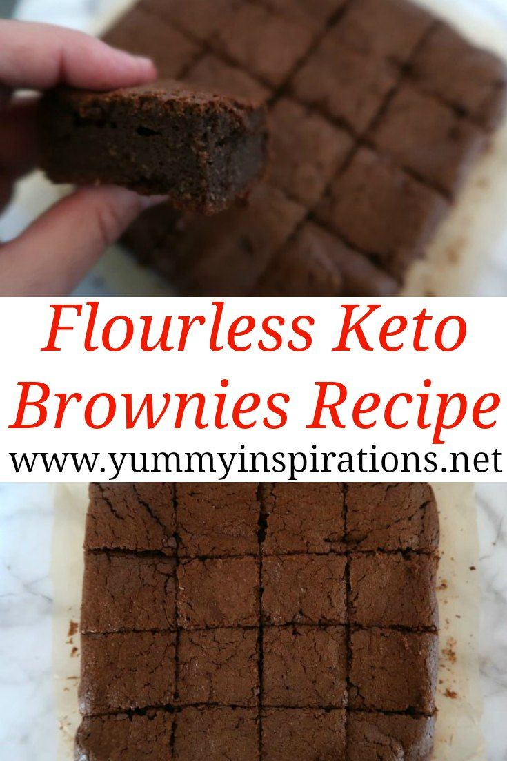 Flourless Keto Brownies Recipe - Easy Low Carb Brownie Recipes