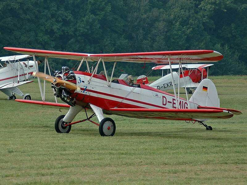 """The Focke-Wulf Fw 44 is a 1930s German two-seat biplane known as the Stieglitz (""""Goldfinch""""). It was produced by the Focke-Wulf company as a pilot training and sport flying aircraft. It was also eventually built under license in several other countries."""