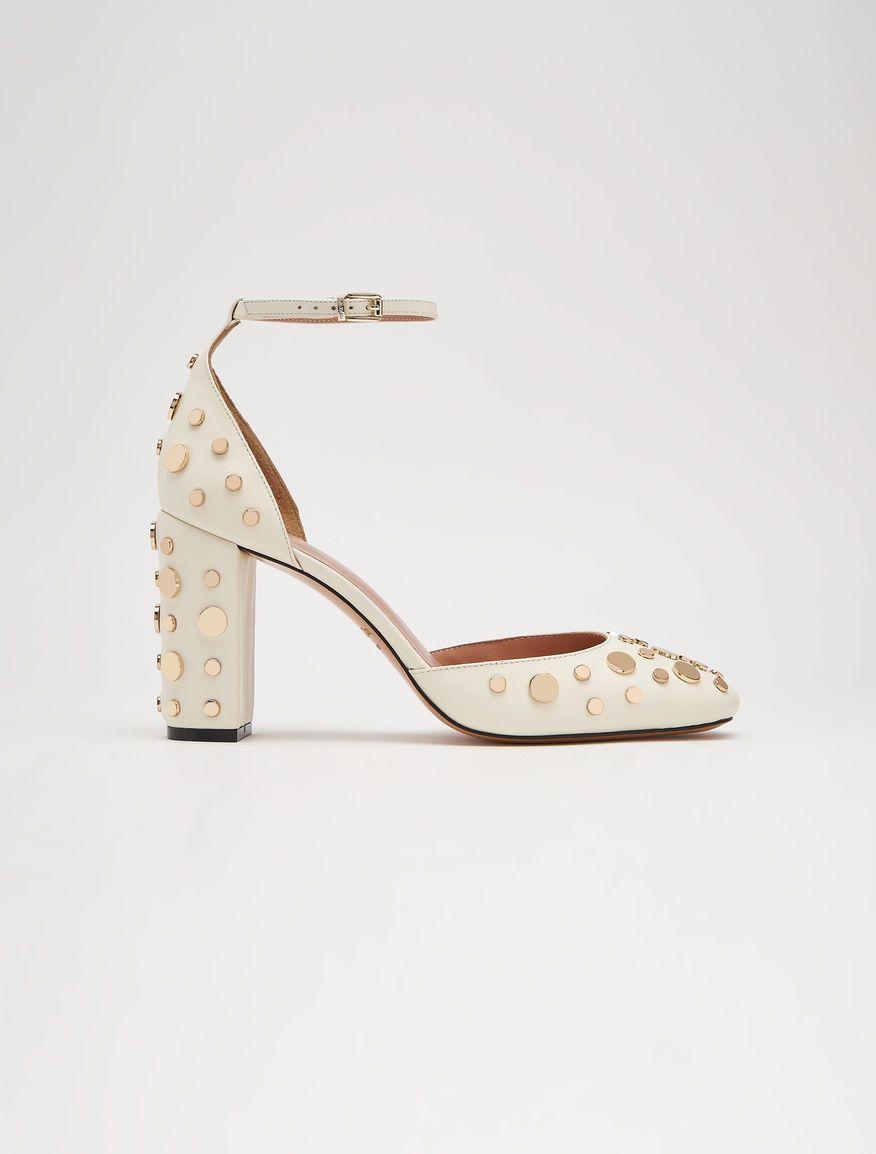 MAX Co. ABLATIVO blanco marfil  Zapatos de salón de piel con ... 6de329641167