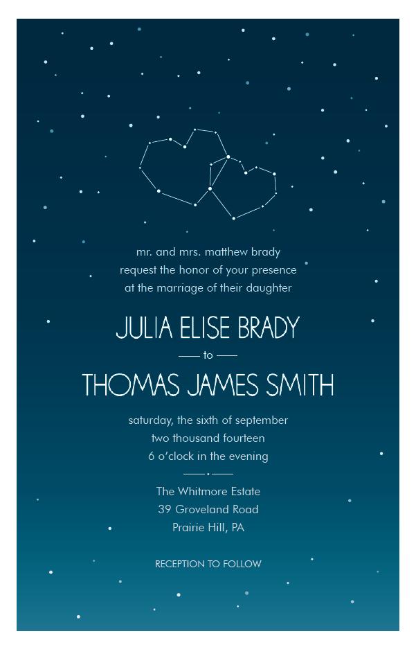 Vistaprint Wedding Programs.Starry Night Wedding Invitation Vistaprint I M Not Crazy About