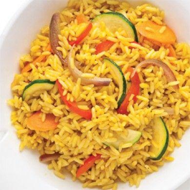 riz pilaf aux l gumes et cari recettes cuisine et nutrition pratico pratique rice. Black Bedroom Furniture Sets. Home Design Ideas