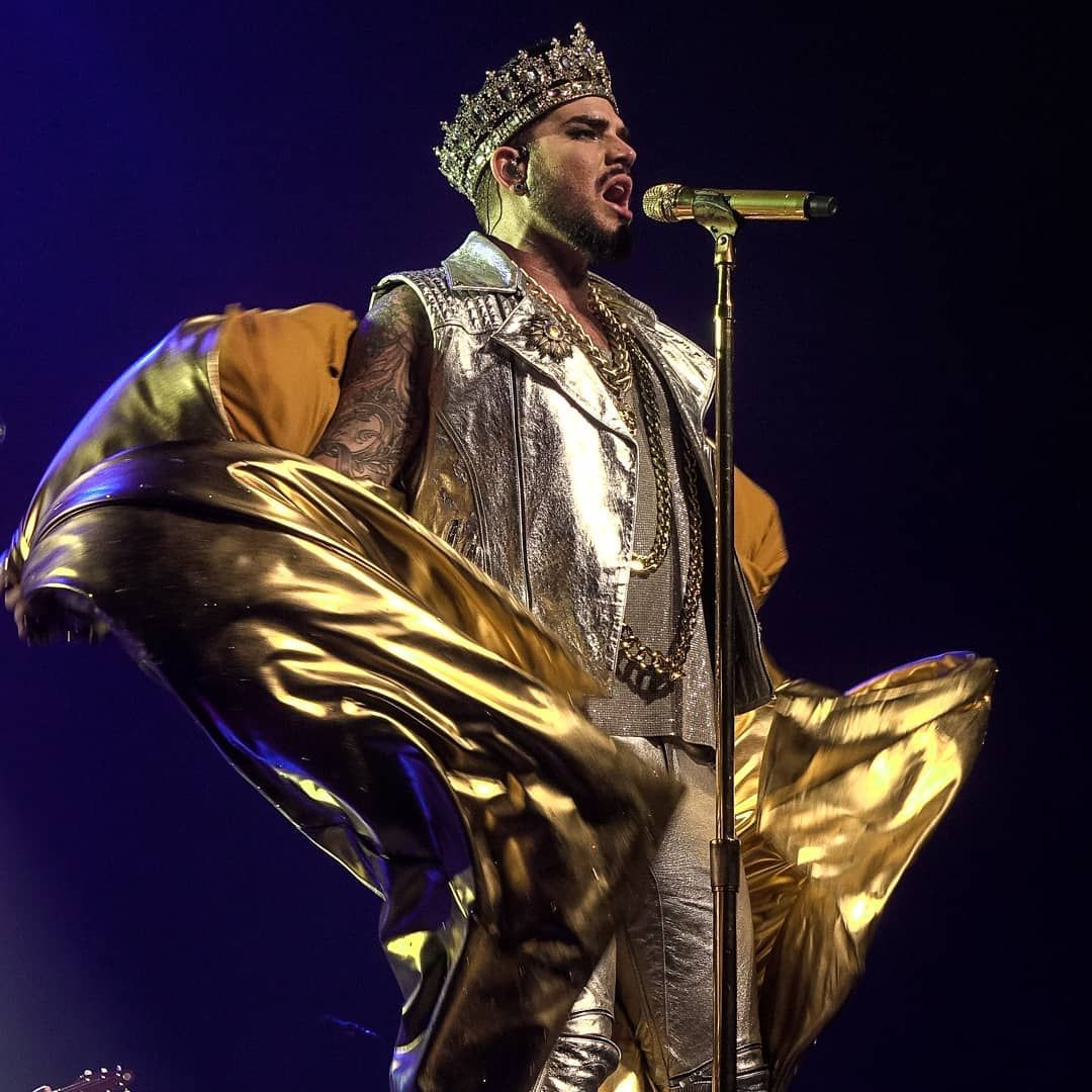 Adam Lambert In Denmark Herning Jyske Bank Boxen Adamlambert Officialqueenmusic Queen Glamberts Musicphotography Adam Lambert Music Photography Herning