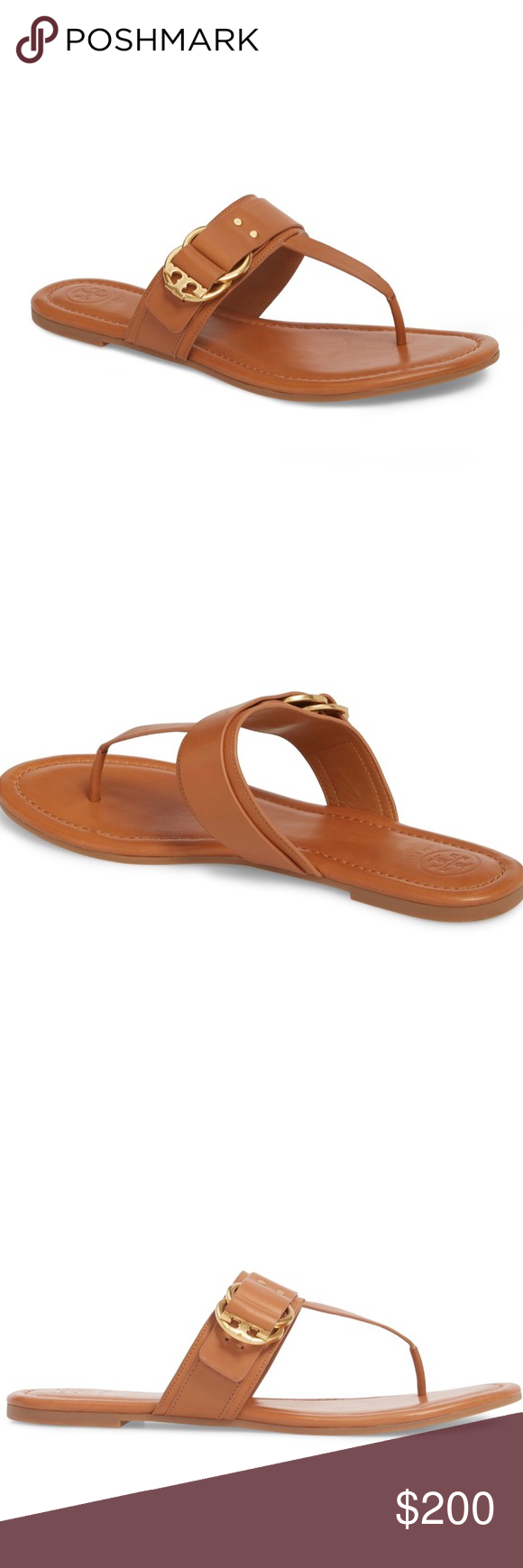 94bb8e04305 NWT Tory Burch Marsden Flat Thong Sandal. Comes with original packaging and  dust bag. Tory Burch Shoes Sandals